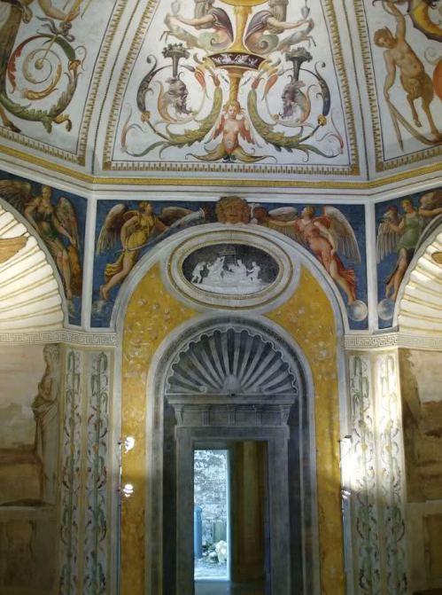 Loggia e Odeo Cornaro_affreschi