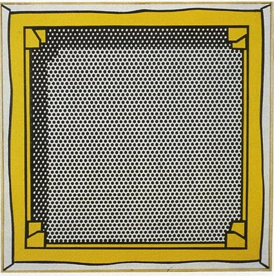 Roy Lichtenstein, Stretcher frame, 1968