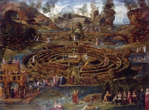Scuola del Tintoretto, Il giardino del piacere, 1579-84
