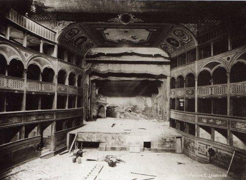 Teatro San samuele, edificato nel 1656 e demolito nel 1894