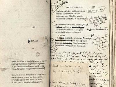 C. Baudelaire, I fiori del male. Prima edizione con dedica autografa a Delacroix.