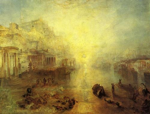 William Turner (1775-1851), Ovidio bandito da Roma, 1838